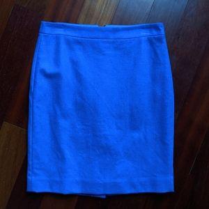 J. Crew Factory The Pencil Skirt in Cobalt Blue